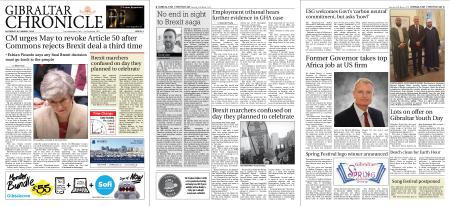 Gibraltar Chronicle – 30 March 2019