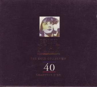 Edith Piaf - The Gold Collection: 40 Chansons D'or (1997) 2CD