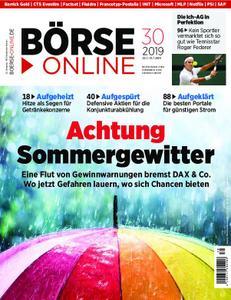 Börse Online – 25. Juli 2019
