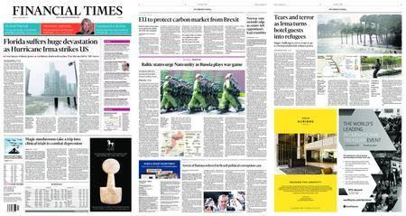Financial Times Europe – September 11, 2017