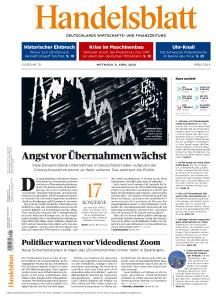 Handelsblatt - 8 April 2020