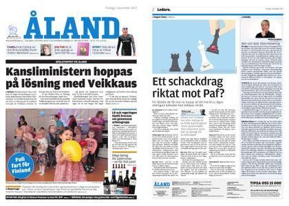 Ålandstidningen – 01 december 2017