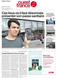 Ouest-France Édition France – 21 juillet 2021