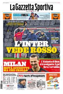 La Gazzetta dello Sport – 24 gennaio 2021