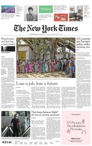 International New York Times - 13-14 June 2020