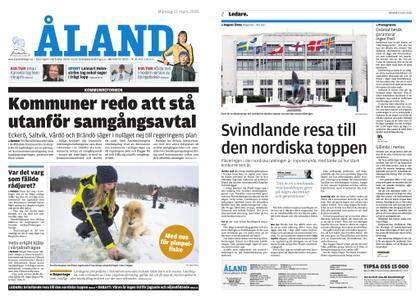 Ålandstidningen – 12 mars 2018