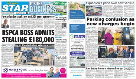 Shropshire Star Shrewsbury Edition – November 20, 2018