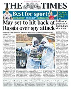 The Times - 12 March 2018