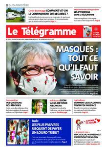 Le Télégramme Ouest Cornouaille – 10 avril 2020