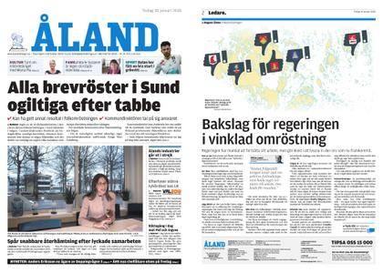 Ålandstidningen – 30 januari 2018