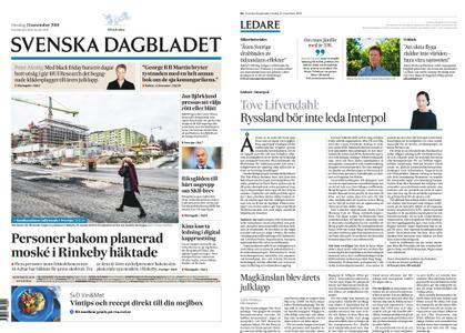 Svenska Dagbladet – 21 november 2018