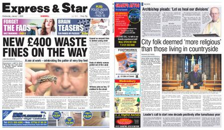 Express and Star Sandwell Edition – January 01, 2020