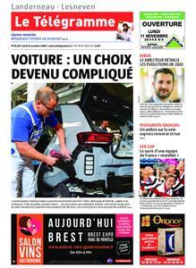 Le Télégramme Landerneau - Lesneven – 11 novembre 2019