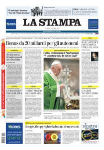 La Stampa Torino Provincia e Canavese - 23 Novembre 2020