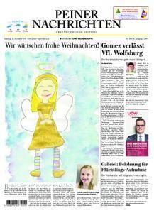 Peiner Nachrichten - 23. Dezember 2017