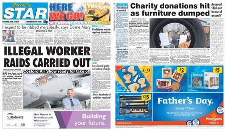 Shropshire Star Shrewsbury Edition – June 09, 2018