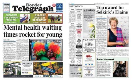 Border Telegraph – July 25, 2018