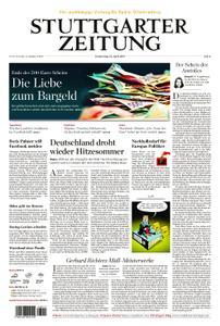 Stuttgarter Zeitung Nordrundschau - 25. April 2019