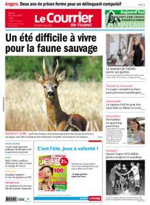 Le Courrier de l'Ouest Nord Anjou – 30 juillet 2019