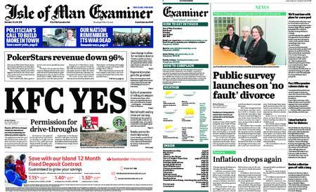 Isle of Man Examiner – November 12, 2019