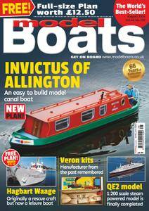 Model Boats - August 2016