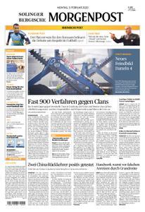 Solinger Morgenpost – 03. Februar 2020