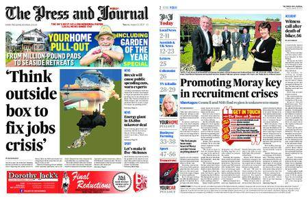 The Press and Journal Moray – August 22, 2017