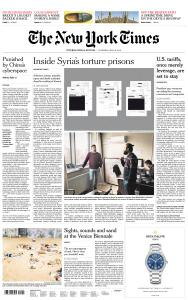 International New York Times - 16 May 2019