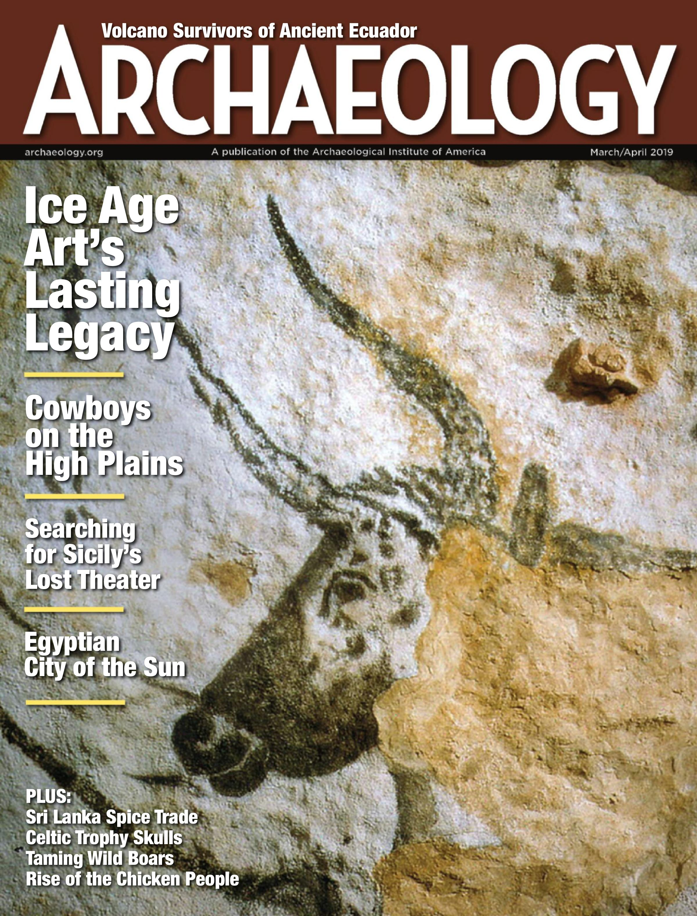Archaeology Magazine - April/May 2019