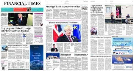 Financial Times UK – September 20, 2017