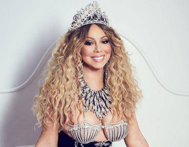 Mariah Carey by James White for Paper Magazine 'Las Vegas' edition