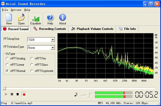 Arial Sound Recorder ver.1.35