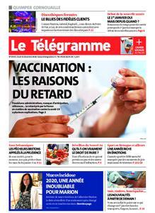 Le Télégramme Ouest Cornouaille – 31 décembre 2020