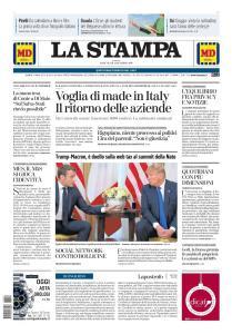 La Stampa Torino Provincia e Canavese - 4 Dicembre 2019
