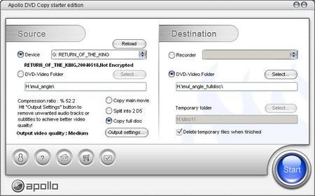 Apollo DVD Copy ver. 4.6.7