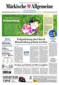 Märkische Allgemeine Westhavelländer - 18. August 2018