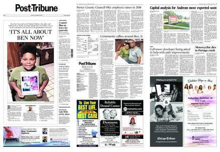 Post-Tribune – October 15, 2017