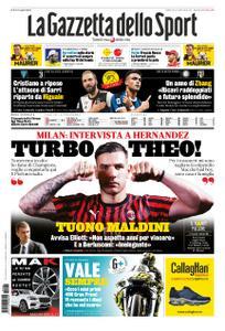 La Gazzetta dello Sport Roma – 26 ottobre 2019