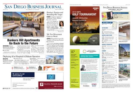 San Diego Business Journal – May 20, 2019