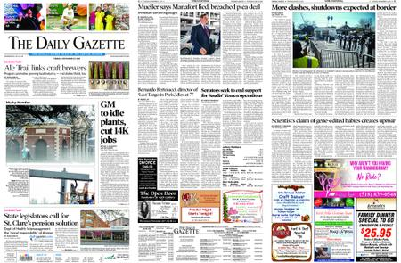 The Daily Gazette – November 27, 2018