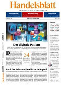 Handelsblatt - 15. Oktober 2018