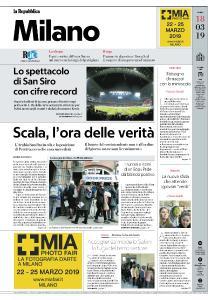 la Repubblica Milano - 18 Marzo 2019