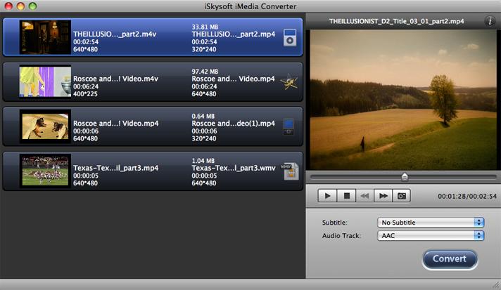iSkysoft iMedia Converter 2.0.1
