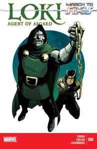 AXIS series 6367 005 Loki-Agent of Asgard 006 2014 Digital Zone