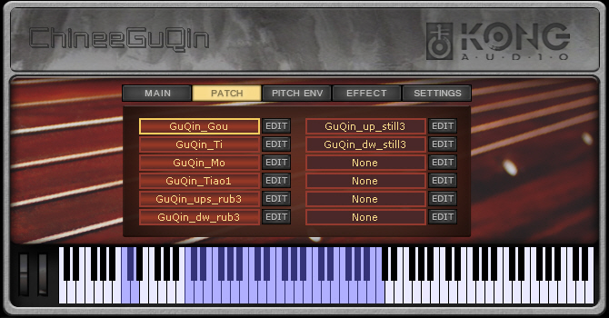Kong Audio ChineeGuQin VSTi v1.0 MERRY XMAS