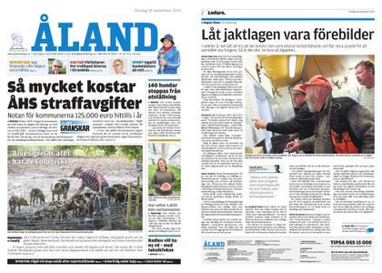 Ålandstidningen – 18 september 2019