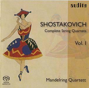 Dmitri Shostakovich - Mandelring Quartett - String Quartets Nos. 1, 2 & 4 (2006) {Hybrid-SACD // ISO & HiRes FLAC}