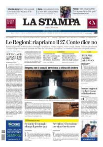 La Stampa Imperia e Sanremo - 19 Aprile 2020