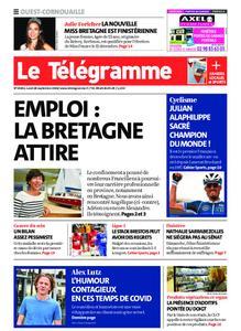 Le Télégramme Ouest Cornouaille – 28 septembre 2020