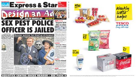 Express and Star Sandwell Edition – July 11, 2019